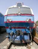 Locomotora eléctrica vieja 3 Foto de archivo libre de regalías
