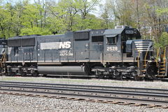 Locomotora meridional 2528 de la herencia de Norfolk Foto de archivo libre de regalías
