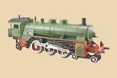 Locomotora modelo del tren Fotos de archivo