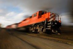 Locomotora que apresura imagenes de archivo