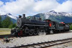 Locomotora turística antigua Fotografía de archivo