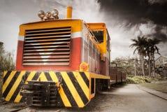 Locomotora vieja Fotografía de archivo libre de regalías