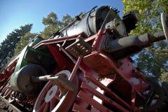 Locomotora vieja Fotos de archivo