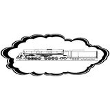 Locomotora vieja Imágenes de archivo libres de regalías