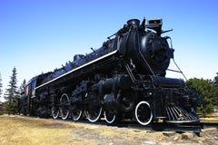 Locomotora vieja grande fotografía de archivo