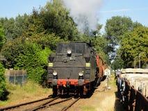 Locomotora vieja foto de archivo libre de regalías