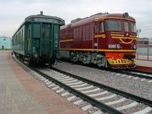 Locomotoras imagen de archivo