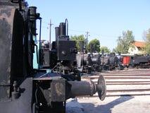 Locomotoras de vapor fotos de archivo