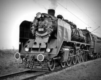 Locomotoras de vapor Fotografía de archivo libre de regalías