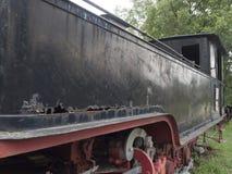 Locomotoras de vapor museo, Resita, Rumania Fotografía de archivo