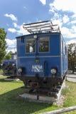 Locomotoras del ferrocarril bávaro de Zugspitze en Munich, 2015 Foto de archivo