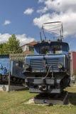 Locomotoras del ferrocarril bávaro de Zugspitze en Munich, 2015 Imágenes de archivo libres de regalías
