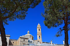 Locorotondo, Apulia, Италия Стоковое Изображение RF