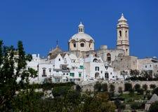 Locorotondo, Apulia, Италия Стоковое фото RF