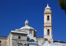 Locorotondo, Apulia, Włochy obrazy royalty free