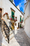 Locorotondo, Puglia, Italië royalty-vrije stock foto