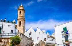 Locorotondo, Puglia, Italië royalty-vrije stock foto's