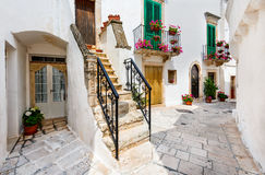 Locorotondo, Puglia, Italy Stock Photography
