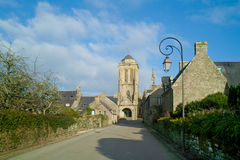 Locronan in Bretagne Royalty-vrije Stock Fotografie