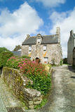 Locronan in brittany Royalty Free Stock Photos