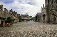 Locronan (Brittany, France) Stock Photo