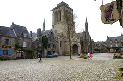 Locronan (Brittany, France) Royalty Free Stock Photo