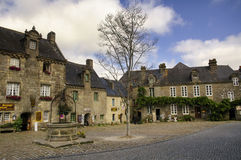 Locronan (Brittany, France) Stock Image