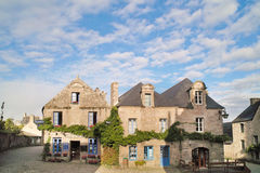 Locronan en bretagne Royalty Free Stock Images