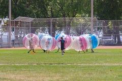 Locura de la burbuja Imagenes de archivo