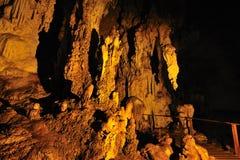 Lod cave at Maehongson Stock Photo