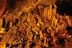 Lod cave at Maehongson Stock Photo
