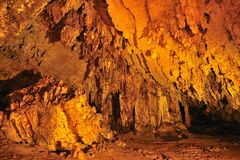 Lod cave at Maehongson Royalty Free Stock Image