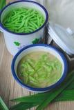 Lod Chong, dessert thaïlandais, cuisine thaïlandaise Images stock