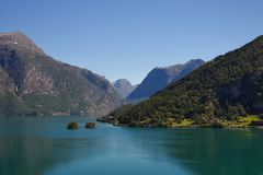 Lodalen, Lo Valley, Norway royalty free stock images