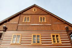 lodge деревянный Стоковая Фотография RF
