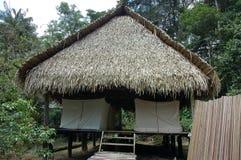 lodge дома Амазонкы Стоковые Изображения RF