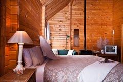 lodge Новая Зеландия ледника лисицы квартиры нутряной Стоковые Фотографии RF