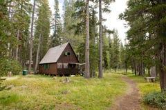 lodge пущи деревянный Стоковые Фото