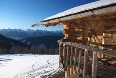 lodge 4 деревянный Стоковое Фото