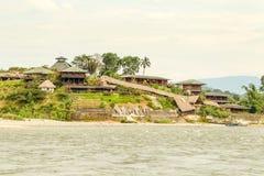 Lodge In Amazonia Stock Photo