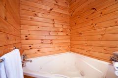 Lodge bathroom interior Stock Image