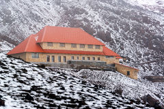 Lodge on Cotopaxi Volcano Stock Images