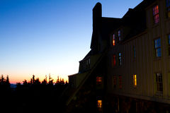 Lodge at Dusk Royalty Free Stock Photo