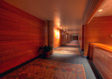 Lodge hallway Royalty Free Stock Images