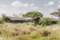 Lodge in Kenya Stock Image