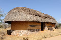 Lodge, resort. Samburu national park Stock Image