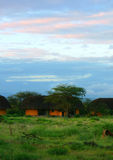 Lodge in Samburu Royalty Free Stock Images