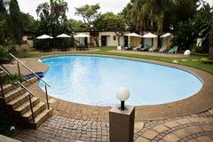 Lodge Swimming Pool royalty free stock photos