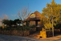 Beautiful lodge in Willem Pretorius game reserve in South Africa. Lodge in Willem Pretorius game reserve in South Africa stock image