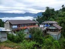 Lodges in Deurali, Nepal Stock Image